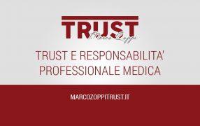 trust responsabilità professionale medica